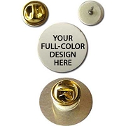 Custom Sublimated Lapel Pin for Any Fraternity or Sorority