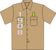 1908 Dickies Shirt, Khaki
