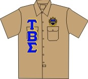 Tau Beta Sigma Dickies Shirt, Khaki