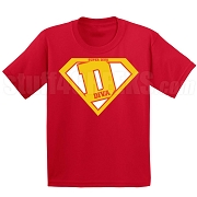 Devastating Divas Super D Screen Printed T-Shirt, Red