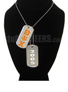 Beta Psi Chi Double Dog Tag - Double with Founding Year