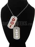 Daughters Of Isis Double Dog Tag - Double with Founding Year