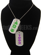 Delta Theta Psi Double Dog Tag - Double with Founding Year