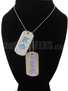 Kappa Phi Club Double Dog Tag - Double with Founding Year