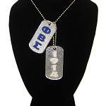 Phi Beta Sigma Double Dog Tag