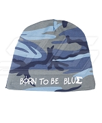 Phi Beta Sigma Born to be Blue Camo Baby Beanie
