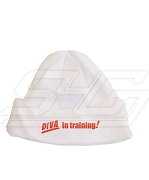 Diva in Training Baby Beanie, White