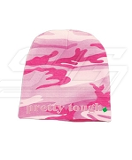 Alpha Kappa Alpha Pretty Tough Camo Baby Beanie