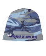 A Product of Dove Love Camo Baby Beanie