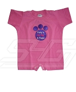 Pretty in Hot Pink and Purple Sigma Lambda Gamma Romper