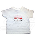 Pretty Mom + Pretty Dad = Pretty Baby Screen Printed T-shirt