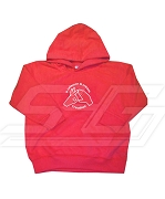 A Crimson and Cream Creation Hoodie