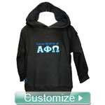 FratBrat Custom Embroidered Kids Hoodie