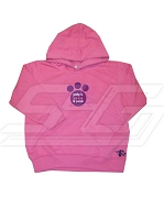 Pretty in Hot Pink and Purple Sigma Lambda Gamma Hoodie