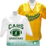 Personalized Embroidered Football Jersey