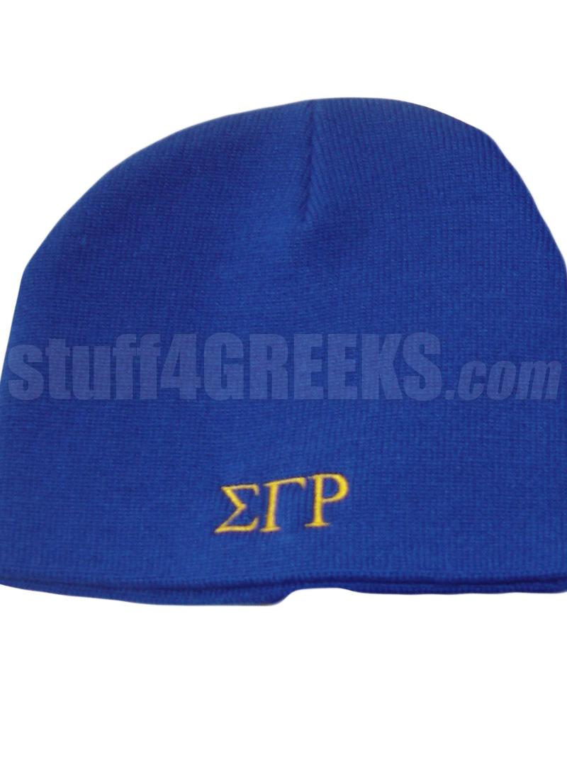 ec517d90c68 Custom Beanie Hat for Any Fraternity or Sorority