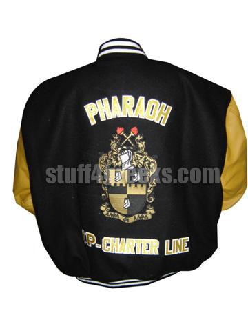Custom Greek Varsity Letterman Jacket