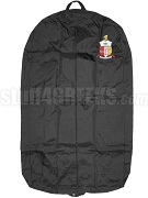 Kappa Alpha Psi Garment Bag with Crest, Black