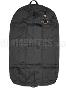 Omega Delta Garment Bag with Crest, Black