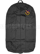 Phi Chi Theta Garment Bag with Crest, Black