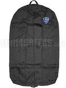 Sigma Beta Club Garment Bag with Crest, Black