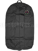 Sigma Delta Alpha Garment Bag with Crest, Black