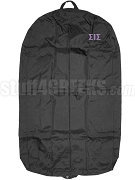 Sigma Iota Sigma Garment Bag with Greek Letters, Black