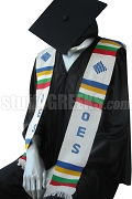 Order of Eastern Star Kente Graduation Stole