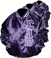 Satin Baseball Jackets