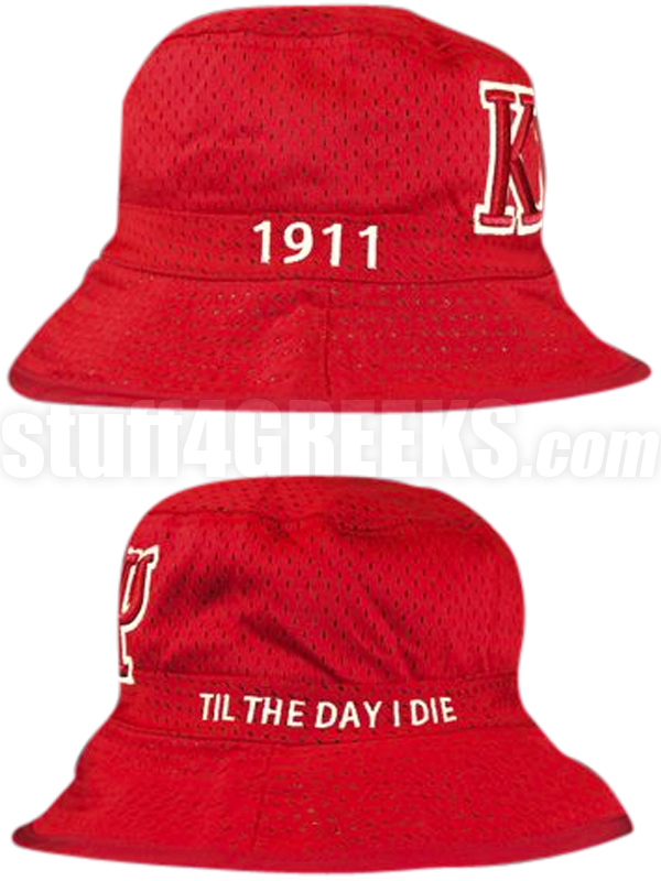 0428f6cbf7e Description  Customer Reviews  Questions and Answers. Description. Red Kappa  Alpha Psi floppy hat with the Greek letters ...