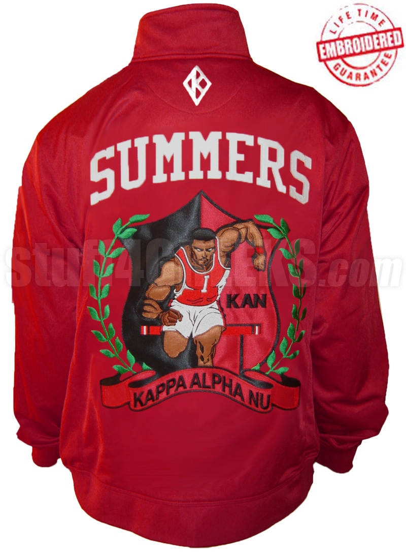 40923480f Kappa Alpha Psi Frank Summers Track Jacket, Embroidered with Lifetime  Guarantee (AUG)