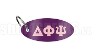 Delta Phi Psi Key Chain with Greek Letters, Purple
