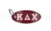 Kappa Delta Chi Key Chain with Greek Letters, Maroon