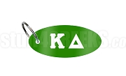 Kappa Delta Key Chain with Letters, Kelly Green
