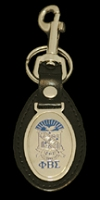 Phi Beta Sigma Leather Fob Key Chain