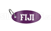 Phi Gamma Delta Key Chain with Letters, Purple