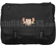 Chi Delta Beta Laptop Bag with Crest, Black