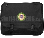 Kappa Delta Pi Laptop Bag with Crest, Black