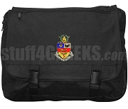 Kappa Psi Laptop Bag, Black