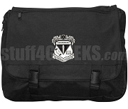 Kappa Sigma Epsilon Laptop Bag with Crest, Black