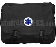 Phi Alpha Theta Laptop Bag with Crest, Black