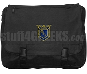 Phi Beta Lambda Laptop Bag with Crest, Black