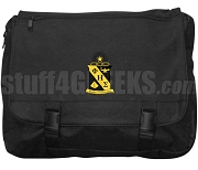 Phi Eta Sigma Laptop Bag with Crest, Black
