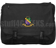Phi Sigma Theta Laptop Bag with Crest, Black