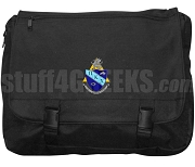Pi Kappa Chi Laptop Bag with Crest, Black