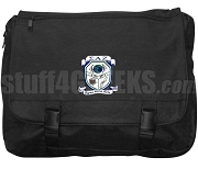 Sigma Alpha Zeta Laptop Bag with Crest, Black