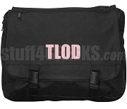 Top Ladies Of Distinction Laptop Bag with Organization Letters, Black