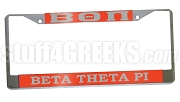 Beta Theta Pi License Plate Frame - Beta Theta Pi Car Tag (CQ)
