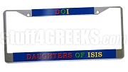 Daughters Of Isis License Plate Frame -  Daughters Of Isis Car Tag
