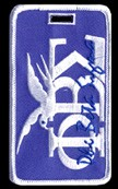 Phi Beta Sigma Dove Luggage Tag